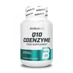 Coenzyme Q10 100 mg 60 kapsul, BioTechUSA