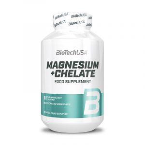 Magnesium + Chelate 60 kapsul, BioTechUSA