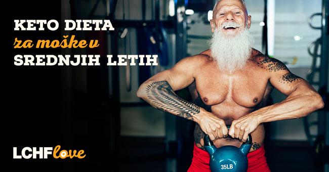Keto dieta za moške v srednjih letih