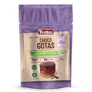 Torras ploščice iz temne čokolade s stevio, 60%, 200 g