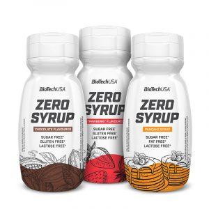 Zero Syrup 320 ml, BioTechUSA